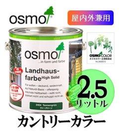画像1: OSMO オスモカラー カントリーカラー(塗りつぶし仕上げ) 2.5リットル缶 【送料無料!!】